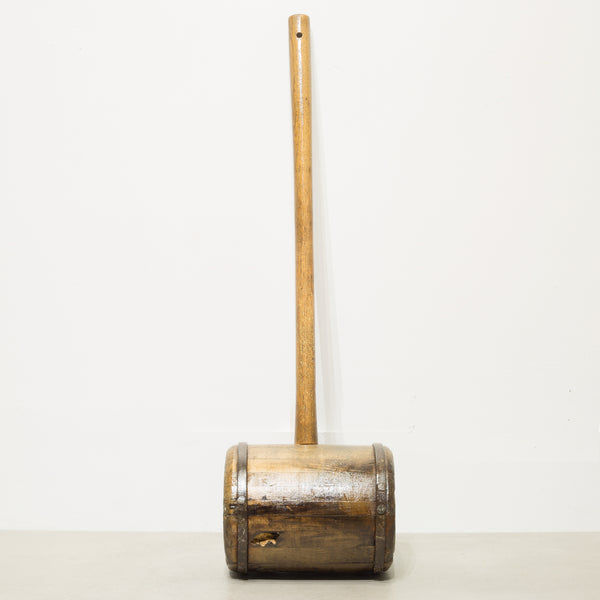 19th c. Carnival Strongman Mallet c. 1880