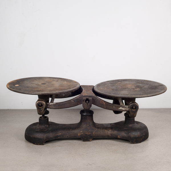 19th c. Cast Iron Balance Scale c.1800s