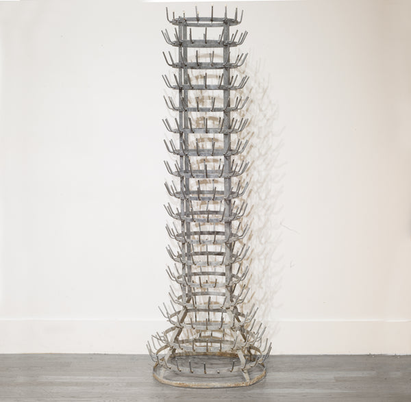 Monumental 19th c. French Bottle Rack c.1800s
