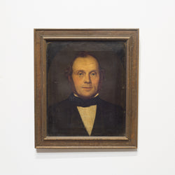 19th c. Oil Portrait of a Gentleman c. 1800s