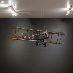 Large Hand Made Replica Bristol F.2b Fighter Model Airplane c.1930