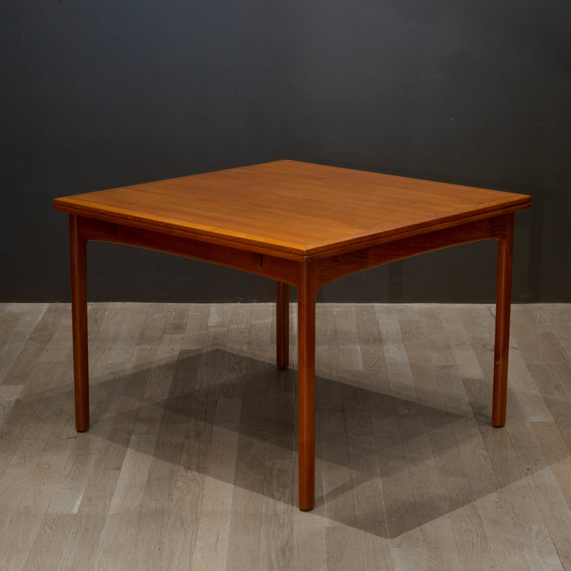 Midcentury Folke Ohlsson Filp Top Teak Dining Table c.1960
