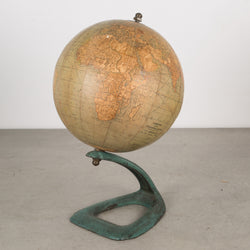 Antique Art Deco Hammon's Terrestrial Globe c.1920-1930