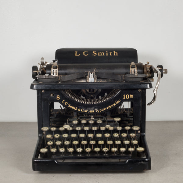 Antique LC Smith & Corona Typewriter c.1926
