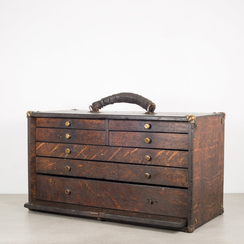 Oak Machinist's Chest c.1940