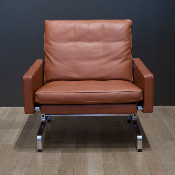 Fritz Hansen PK31 Leather Lounge Chair c.2017