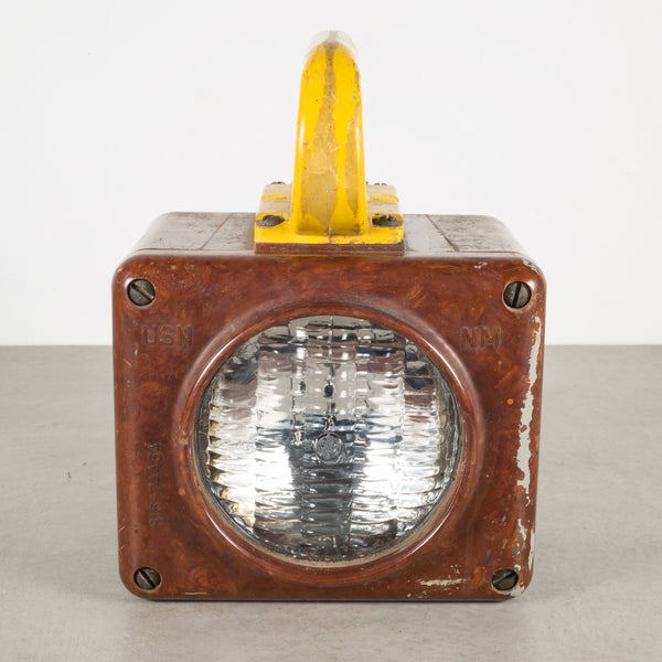 U.S. Navy Bakelite Ship Lantern Light c.1950