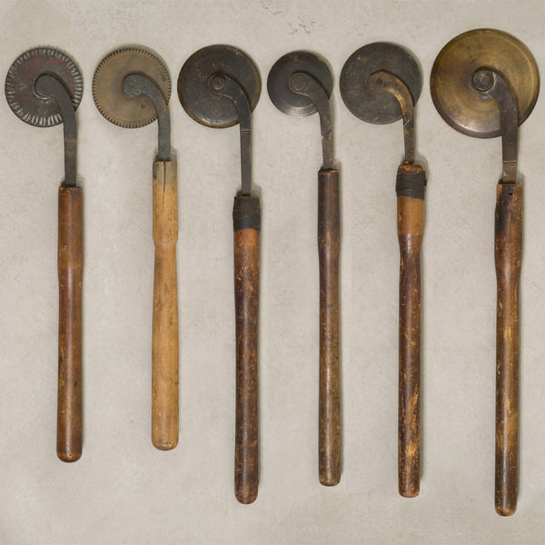 Collection of Bronze Hand Embossing Book Tools c.1860-1920