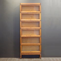 Antique Six Stack Lawyer/Barrister's Bookcase c.1910
