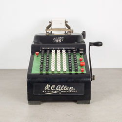 "Antique R.C. Allen ""95"" Figuring Machine c.1930"