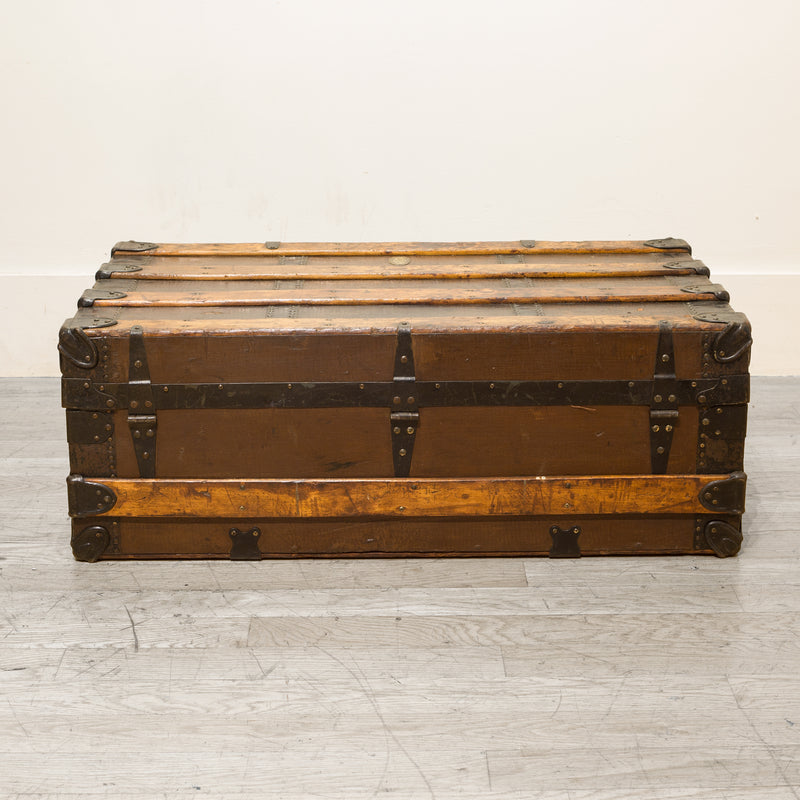 Antique L. Goldsmith and Son Cabin Trunk, circa 1900