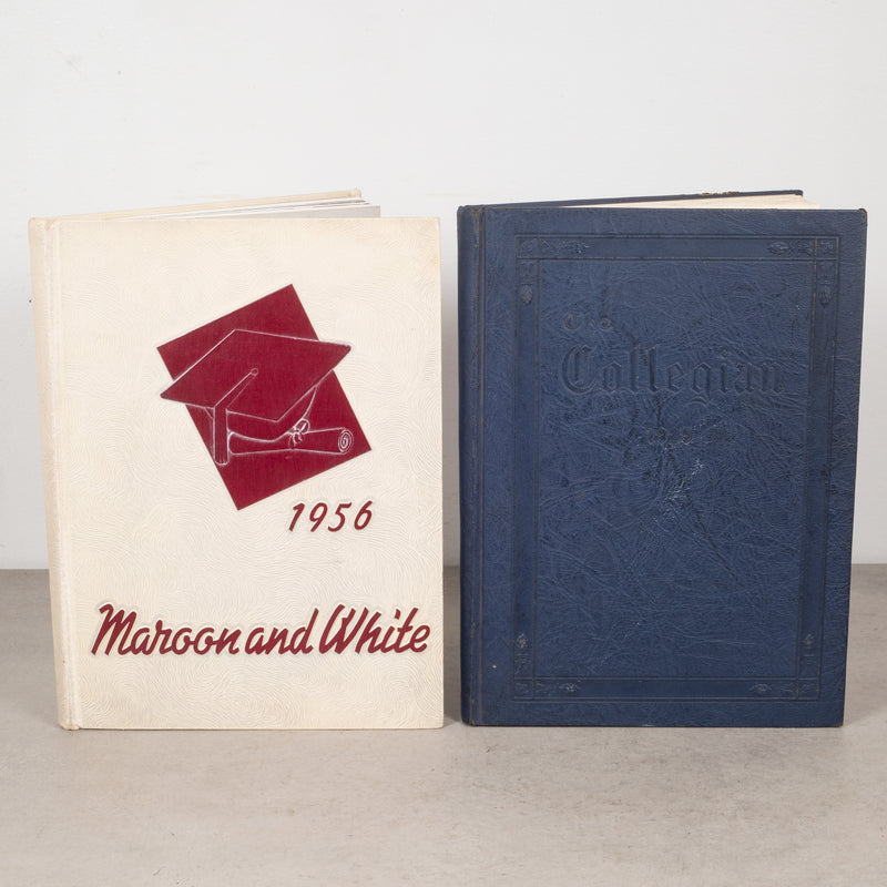 Collection of High School and College Yearbooks c.1922-1956