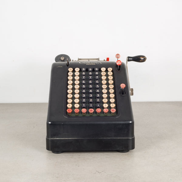 Antique Corona Adding Machine c.1930