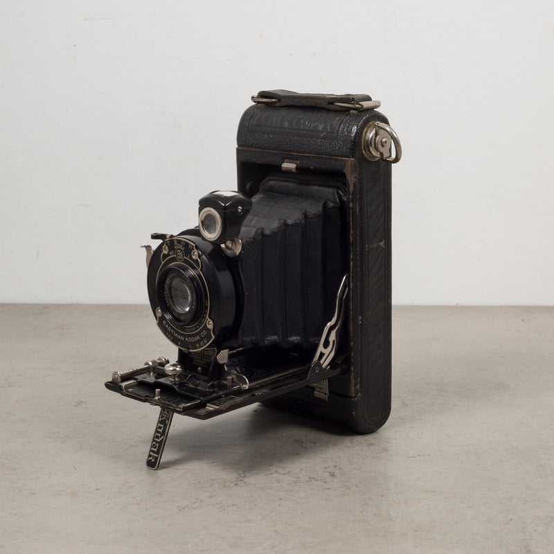 "Antique Eastman Kodak ""No. 1 Pocket Kodak"" Folding Camera c.1909"