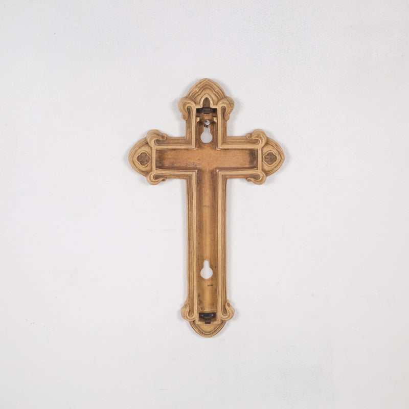 Antique Patinated Detachable Crucifix c.1900