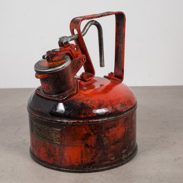 Vintage Safety Gas Cans c.1940