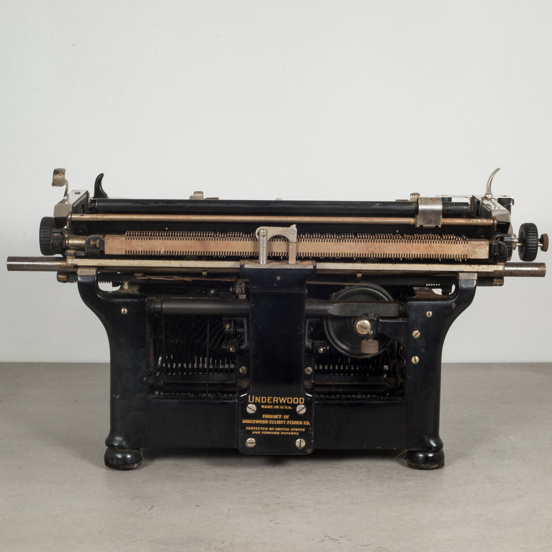 Antique Underwood Typewriter #6 12 c.1933