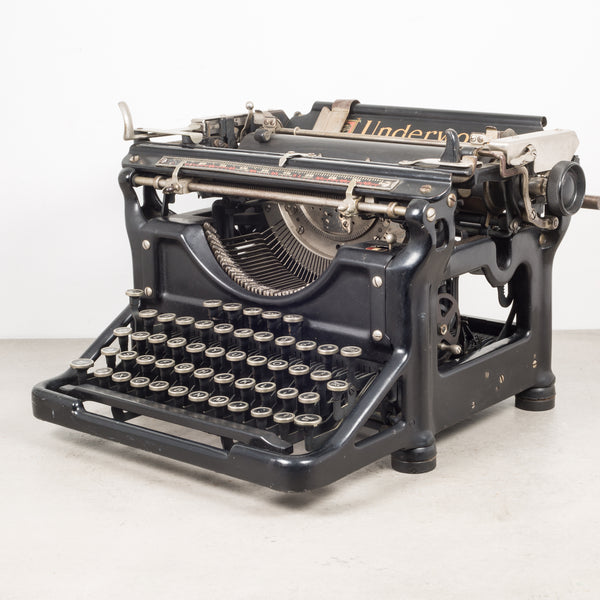 Antique Underwood Typewriter #4 c.1911