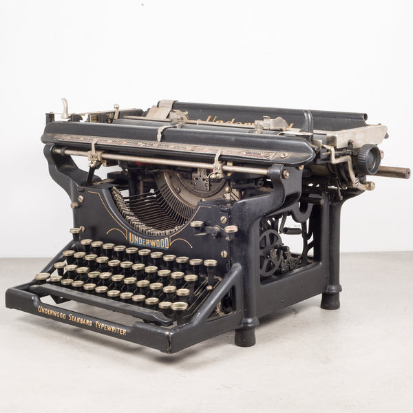Antique Underwood Typewriter #5 c.1913