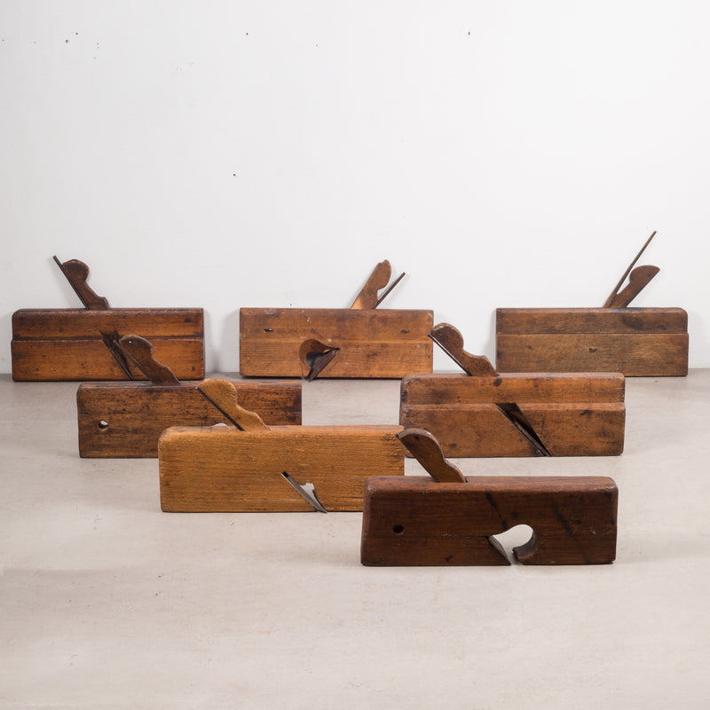 Collection of 19th c. Wooden Carpentry Planes c.1850-1920