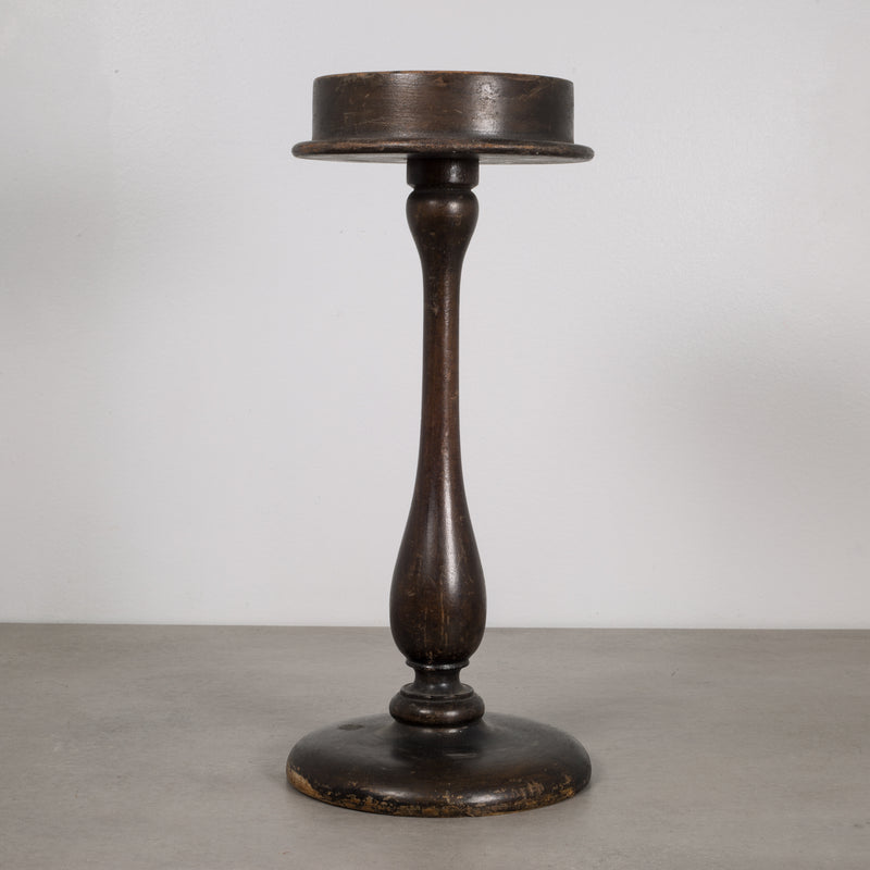 Antique Wooden Hat Display Stand c.1880