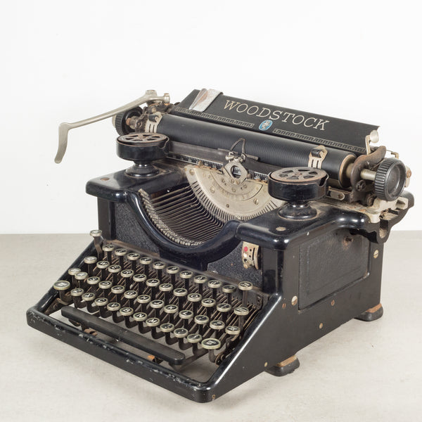 Antique Woodstock Typewriter c.1933