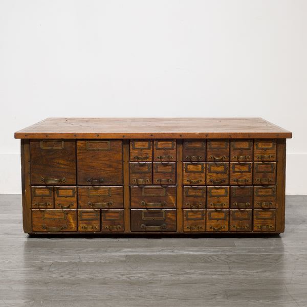 Early 20th c. Apothecary Cabinet c.1906-1920