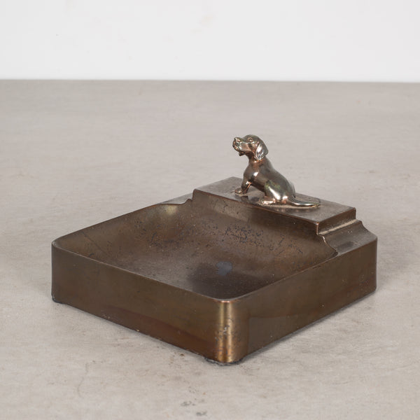 Art Deco Dog Coin Tray c.1930