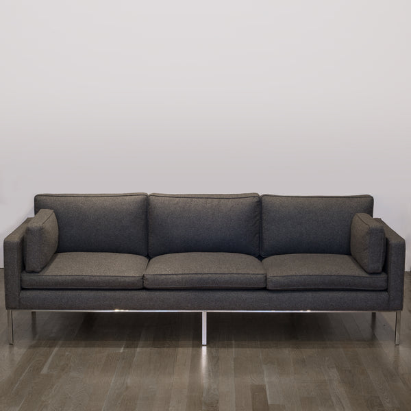 Artifort 905 Three Seat Comfort Sofa in Divina Melange Wool Fabric