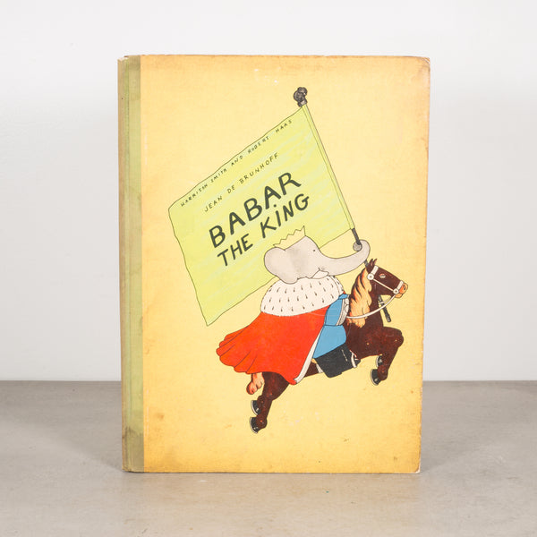 Babar The King 1st Editon 1935