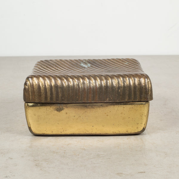 Mid-century Ben Seibel for JenFred Ware Copper Plate Trinket Box c.1960