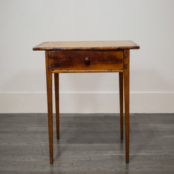 Cherry and Southern Yellow Pine Side Table c.1770