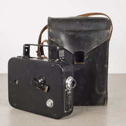 Cine-Kodak 8mm Movie Camera and Leather Case c.1950