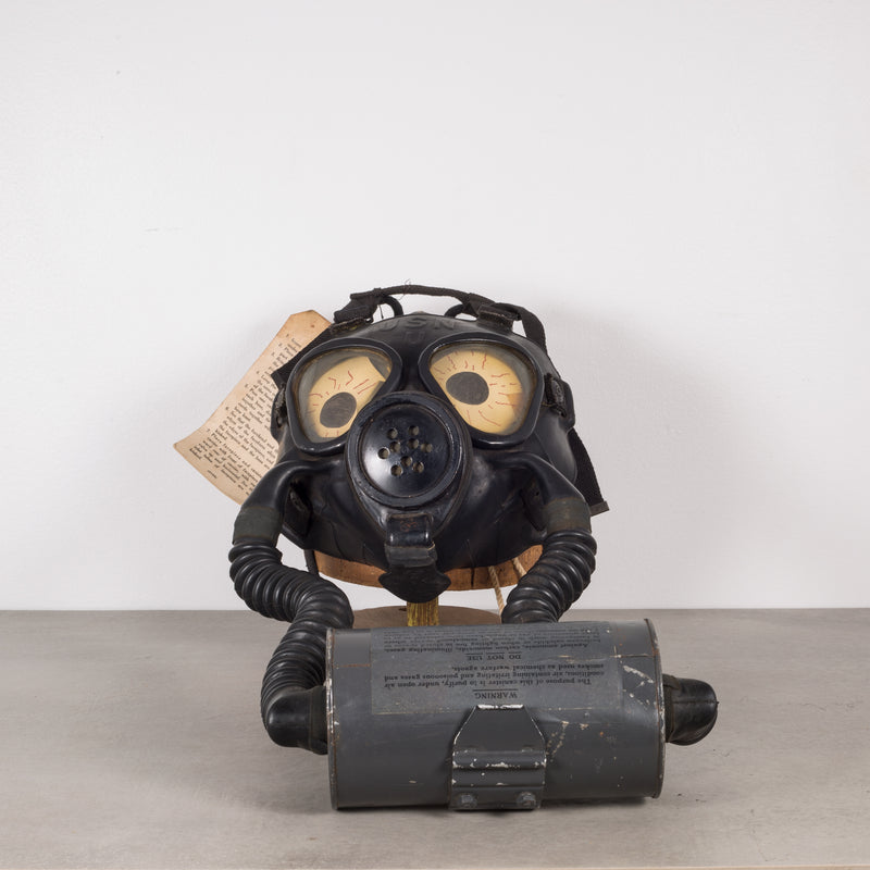 World War ll Navy Gas Mask Shop Display c.1940s