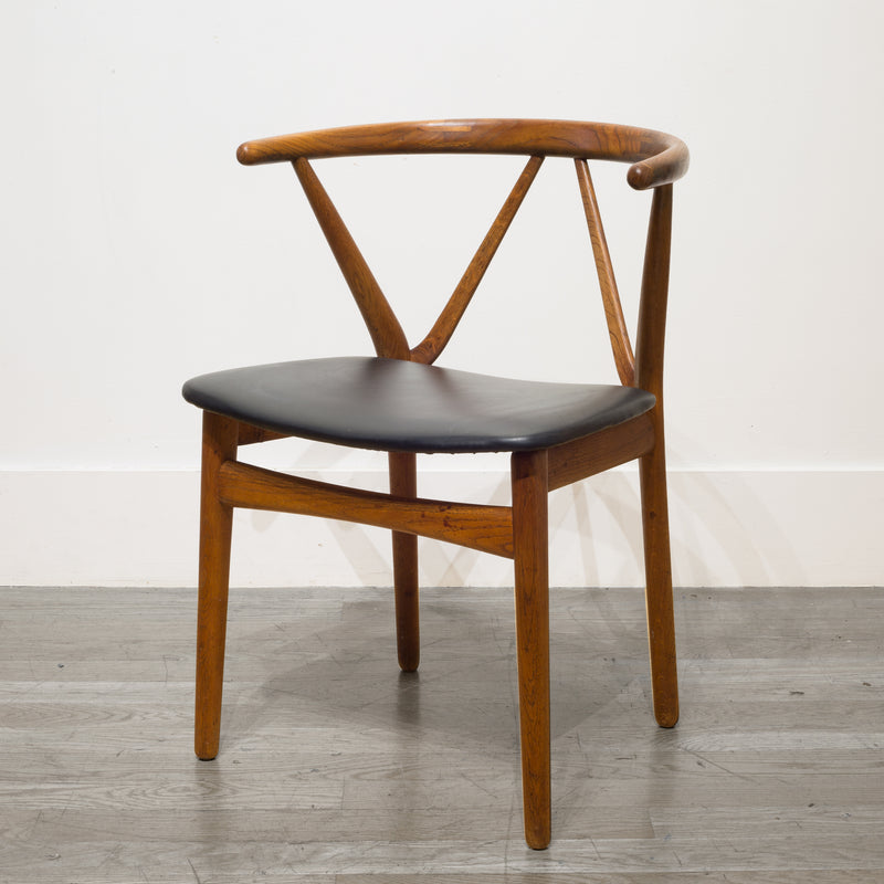 Mid-century Danish Rosewood Arm Chair by Kjaernulf for Hansen c.1950