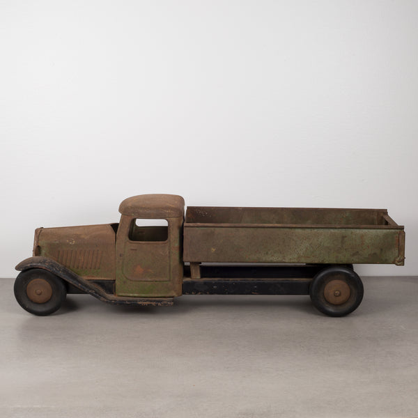 Die Cast Steel Sctructo Toy Truck c.1920