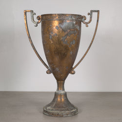 Early 20th c. Solid Bronze Loving Cup Trophy c.1940
