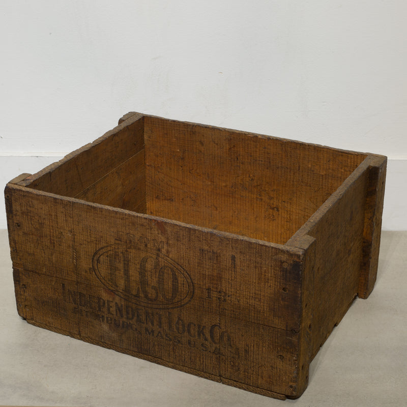 Rustic Wooden Boxes c.1940