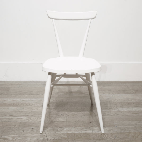 Ercol Originals Stacking Chair, White