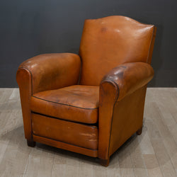 Early 20th c. French Mustache Club Chair c.1940