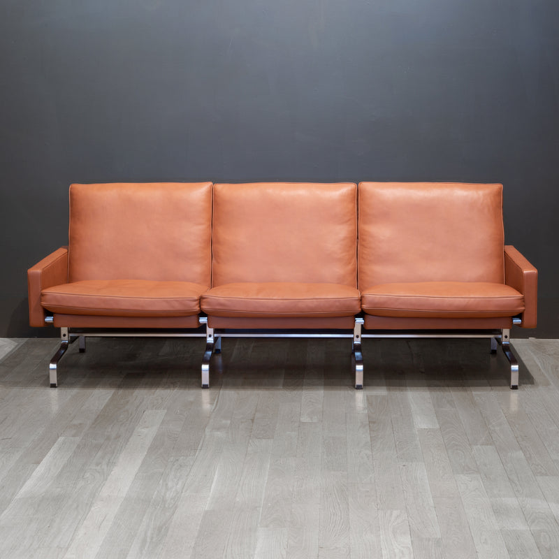 Fritz Hansen PK31/3 Leather Sofa