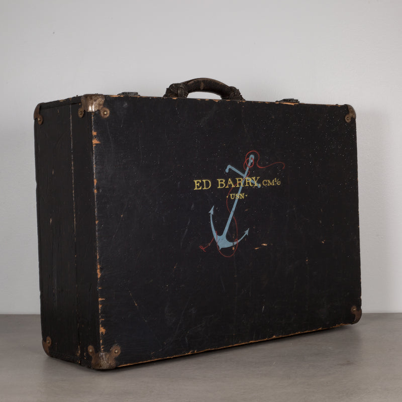 U.S. Navy Construction Mechanic Tool Box c.1940