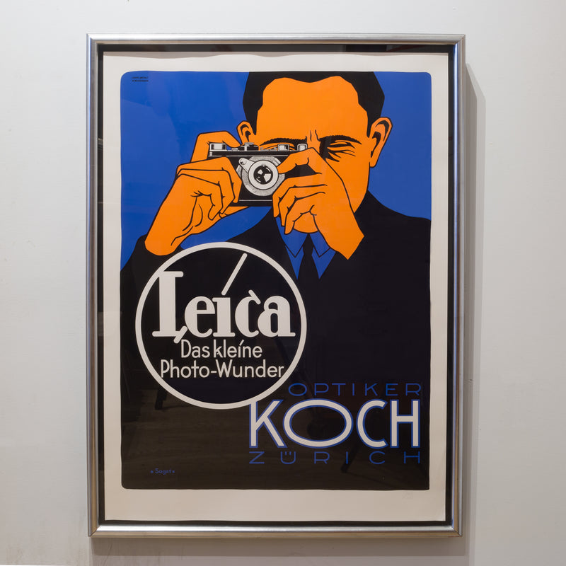 """Leica Das kleine Photo-Wunder Koch, by Hubert Sagat"" Limited Edition Silkscreen"