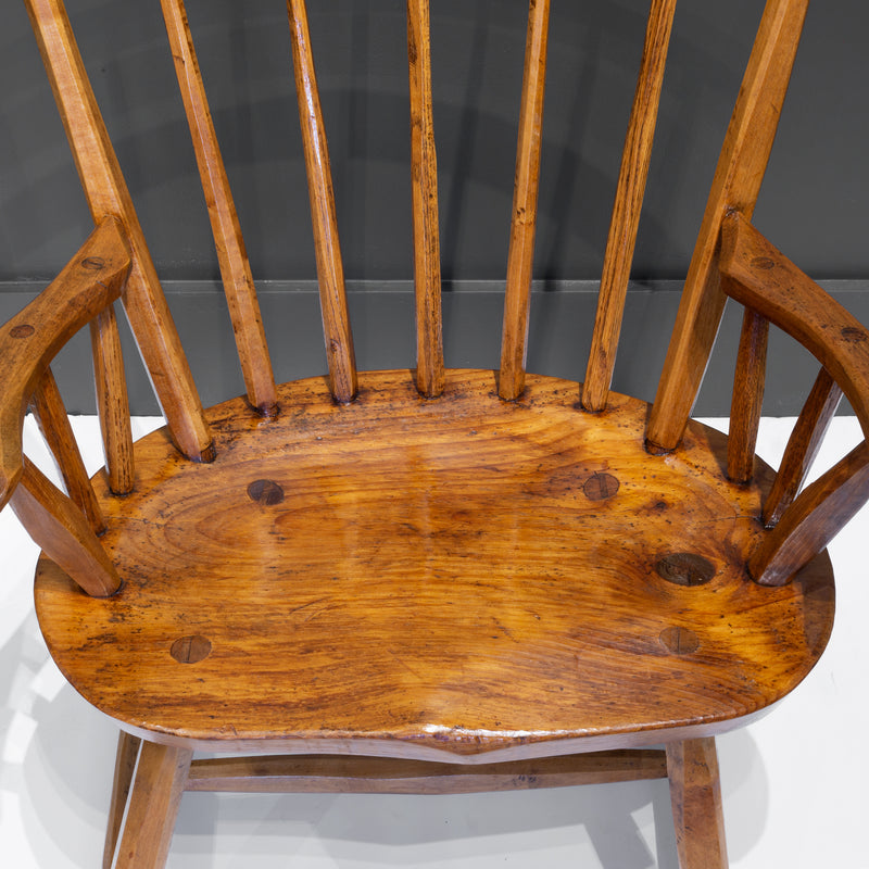 Hand Crafted Primitive Stick Arm Chairs c.1930