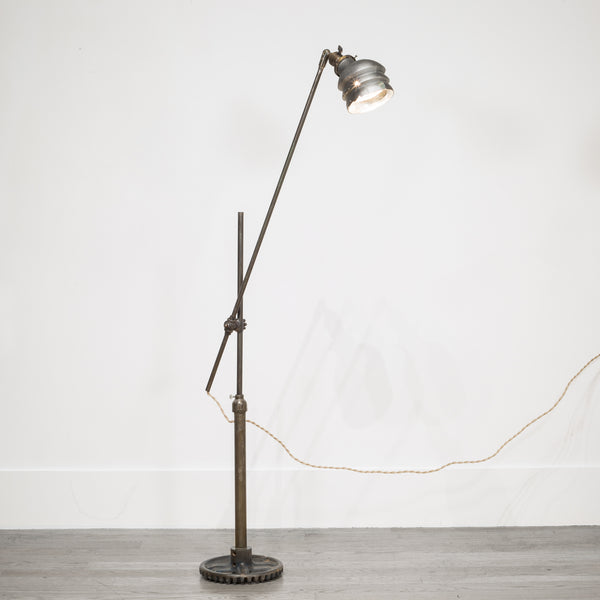 Industrial Floor Lamp c.1890-1940