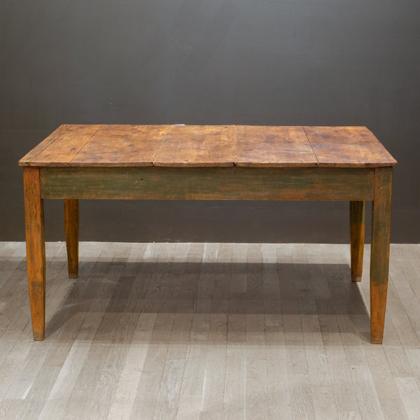 Mid 19th/Early 20th c. Primitive Farmhouse Table c.1850-1920