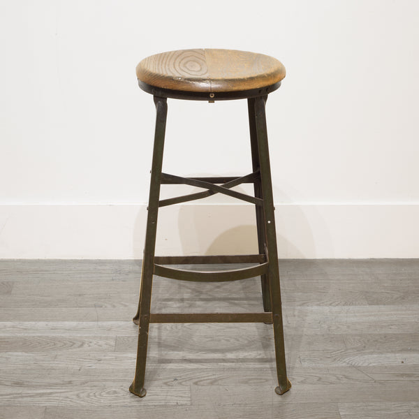 Depression Era Machine Shop Stool c.1930