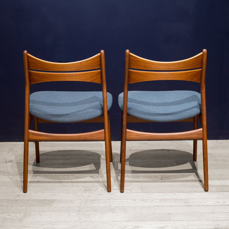 Mid-century Eric Buch Rosewood and Teak Dining Chairs c.1960