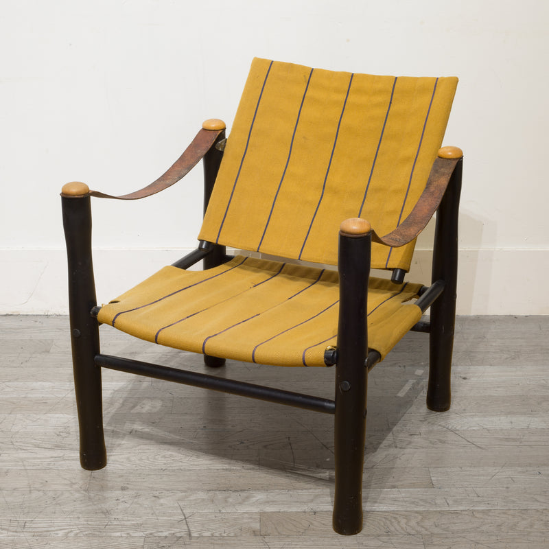 Mid-century Elias Svedberg for Nordiska Kompaniet Trivia Safari Chair c.1950s