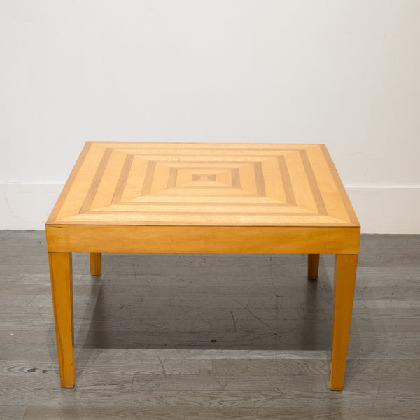 Mid-century Studio Parquetry Coffee Table c.1960